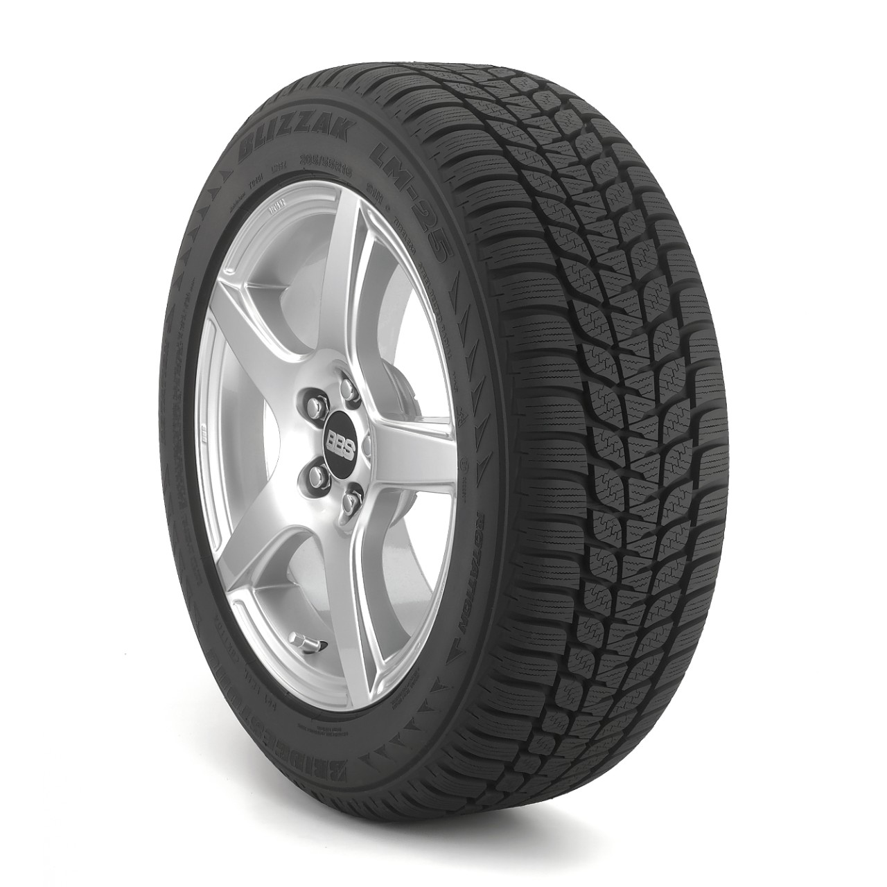 Bridgestone RFT Blizzak LM 25   255/50R19