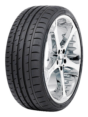 Continental ContiSportContact 3 ssr (RFT) 245/50 R18
